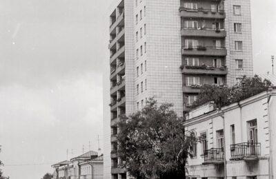 Жилой дом на площади Куйбышева